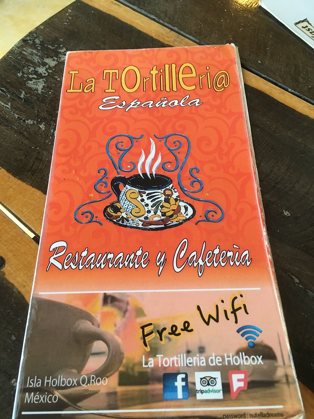 """Photo of La Tortilleria  by <a href=""""/members/profile/Sterling"""">Sterling</a> <br/>Menu <br/> October 22, 2017  - <a href='/contact/abuse/image/103448/317776'>Report</a>"""