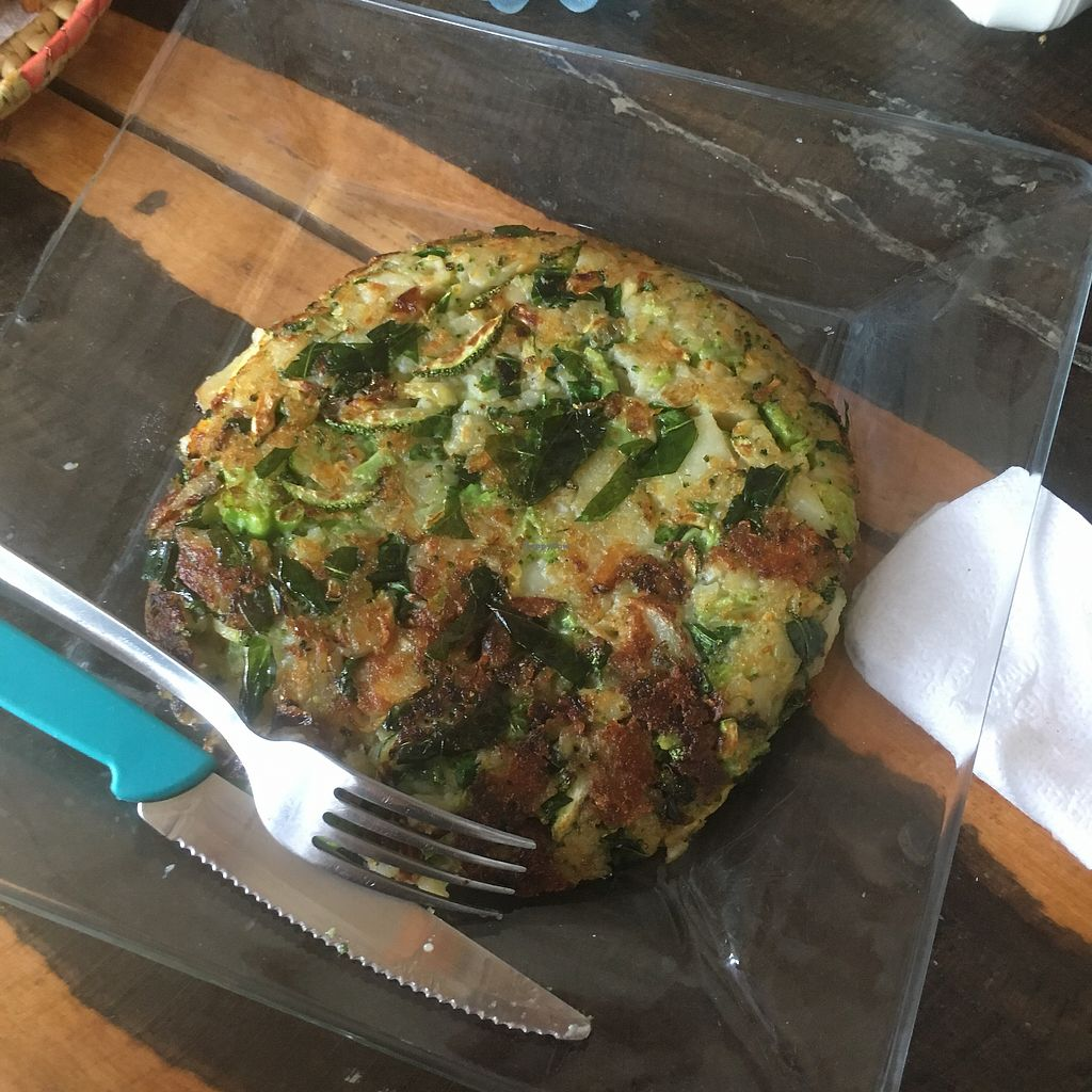 """Photo of La Tortilleria  by <a href=""""/members/profile/Sterling"""">Sterling</a> <br/>Vegan Tortilla with added broccoli.  <br/> October 26, 2017  - <a href='/contact/abuse/image/103448/318924'>Report</a>"""