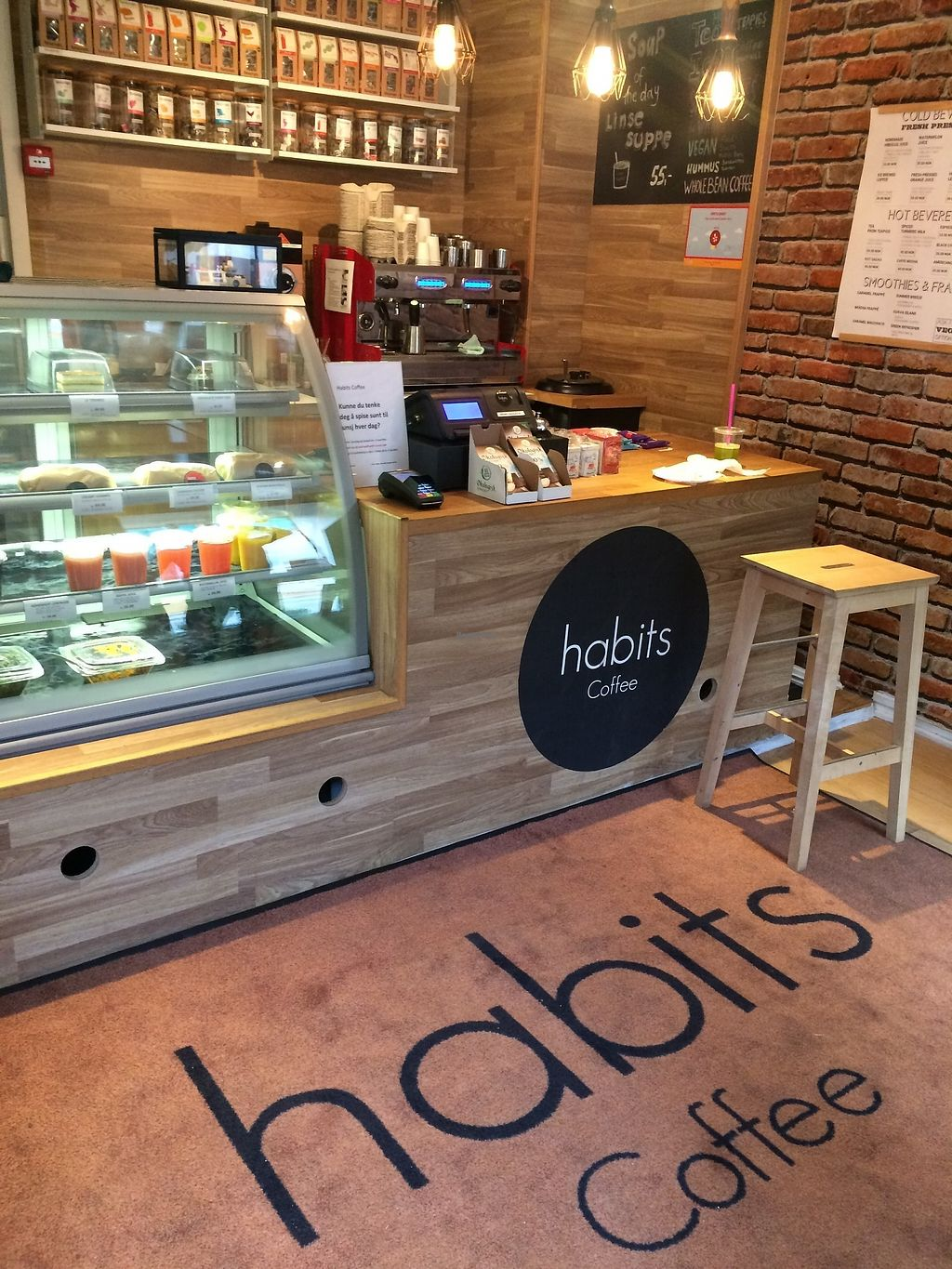 """Photo of Habits Coffee  by <a href=""""/members/profile/TDHill"""">TDHill</a> <br/>Cozy and warm cafe with more seating at a little table in the corner <br/> October 23, 2017  - <a href='/contact/abuse/image/103452/317874'>Report</a>"""