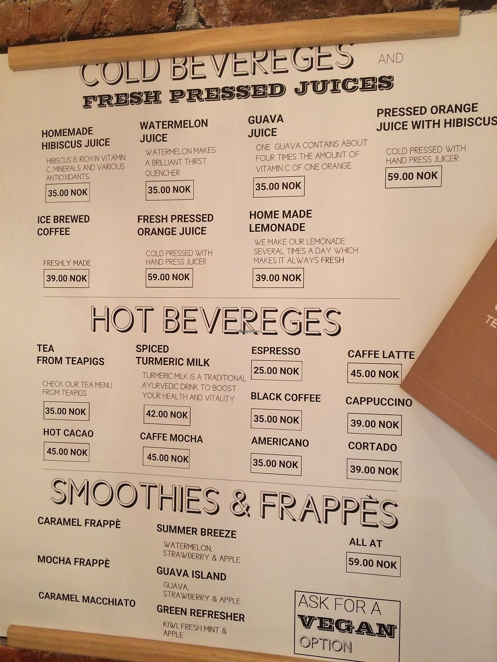 """Photo of Habits Coffee  by <a href=""""/members/profile/TDHill"""">TDHill</a> <br/>Fresh juices and smoothies menu <br/> October 23, 2017  - <a href='/contact/abuse/image/103452/317879'>Report</a>"""
