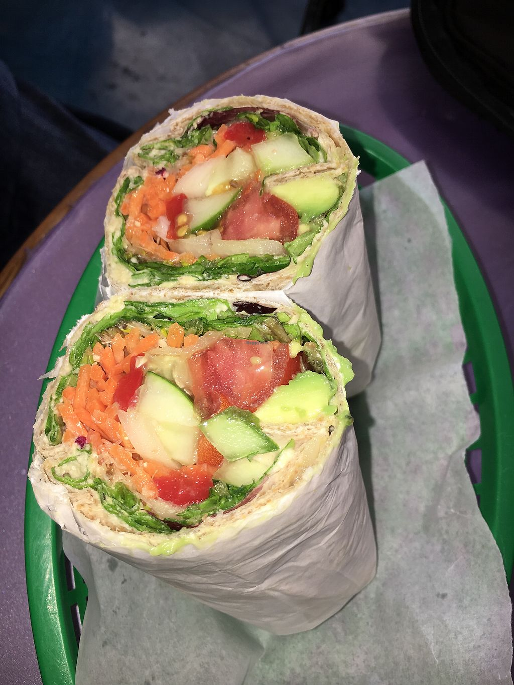 """Photo of Planet Juice  by <a href=""""/members/profile/daroff"""">daroff</a> <br/>Hummus Wrap  <br/> October 24, 2017  - <a href='/contact/abuse/image/103492/318452'>Report</a>"""
