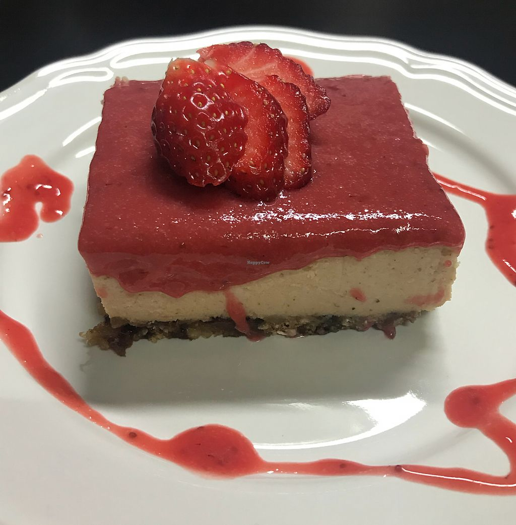"""Photo of Clean Vegan Kitchen  by <a href=""""/members/profile/Trisha123"""">Trisha123</a> <br/>Strawberry cheesecake heaven <br/> February 1, 2018  - <a href='/contact/abuse/image/103501/353429'>Report</a>"""