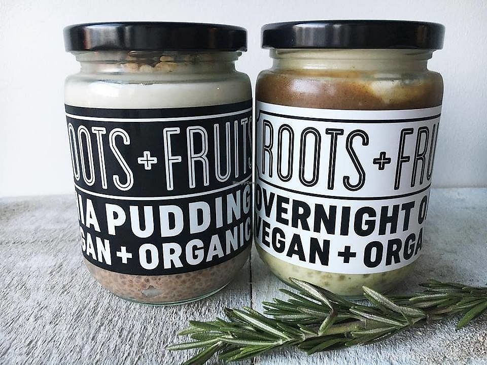 "Photo of Roots + Fruits  by <a href=""/members/profile/EJBC"">EJBC</a> <br/>House-made Overnight Oats and Chia Pudding