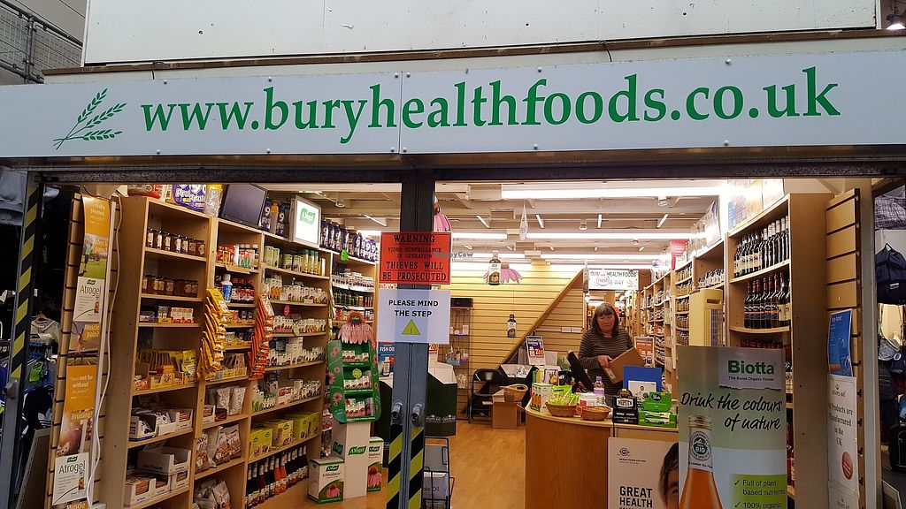 "Photo of Bury Health Foods  by <a href=""/members/profile/Clare"">Clare</a> <br/>Front <br/> October 23, 2017  - <a href='/contact/abuse/image/103529/318130'>Report</a>"