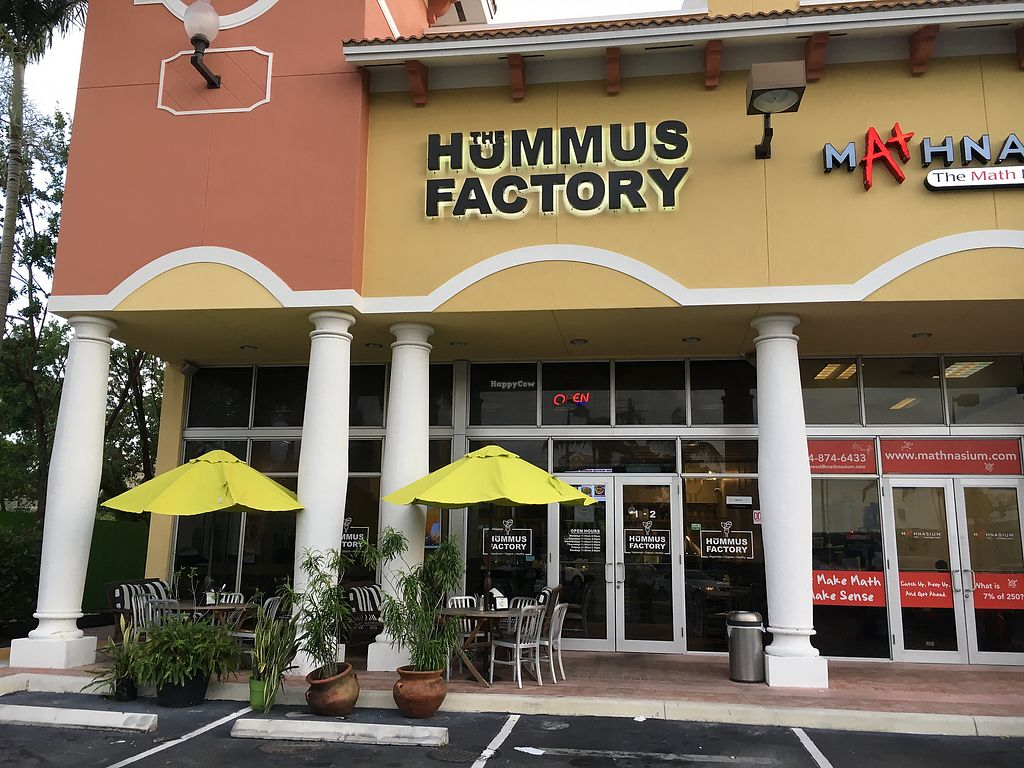 """Photo of The Hummus Factory  by <a href=""""/members/profile/daroff"""">daroff</a> <br/>Storefront  <br/> October 24, 2017  - <a href='/contact/abuse/image/103558/318439'>Report</a>"""
