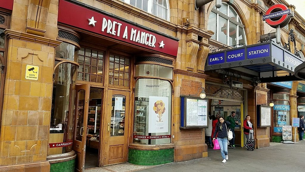 """Photo of Pret A Manger - Earls Court  by <a href=""""/members/profile/eric"""">eric</a> <br/>outside of location <br/> October 24, 2017  - <a href='/contact/abuse/image/103586/318335'>Report</a>"""