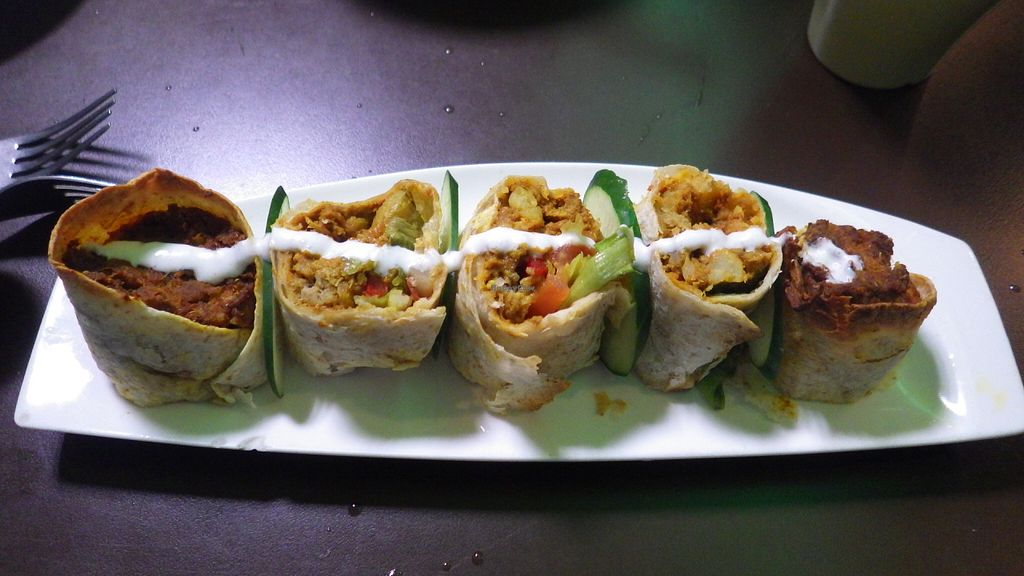 """Photo of New Green Pasture Cafe  by <a href=""""/members/profile/deadpledge"""">deadpledge</a> <br/>Sri Lankan rolls <br/> July 7, 2016  - <a href='/contact/abuse/image/10358/158302'>Report</a>"""