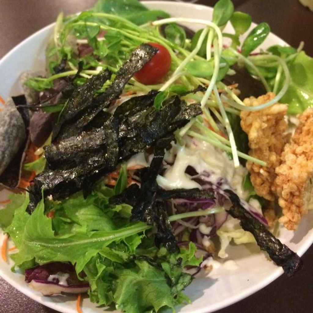 """Photo of New Green Pasture Cafe  by <a href=""""/members/profile/StephanieReinicke"""">StephanieReinicke</a> <br/>Rainbow Salad  <br/> September 26, 2014  - <a href='/contact/abuse/image/10358/81122'>Report</a>"""
