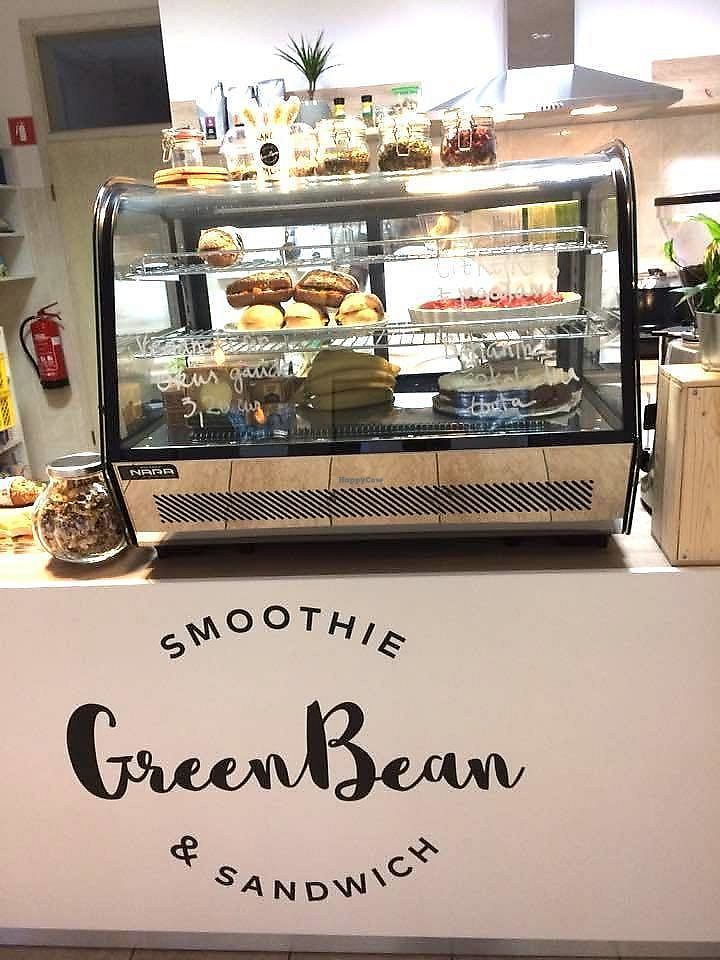 """Photo of Green Bean  by <a href=""""/members/profile/macguitar"""">macguitar</a> <br/>A daily menu of fresh made food: soup, salad, sandwich, dessert <br/> November 10, 2017  - <a href='/contact/abuse/image/103602/323839'>Report</a>"""