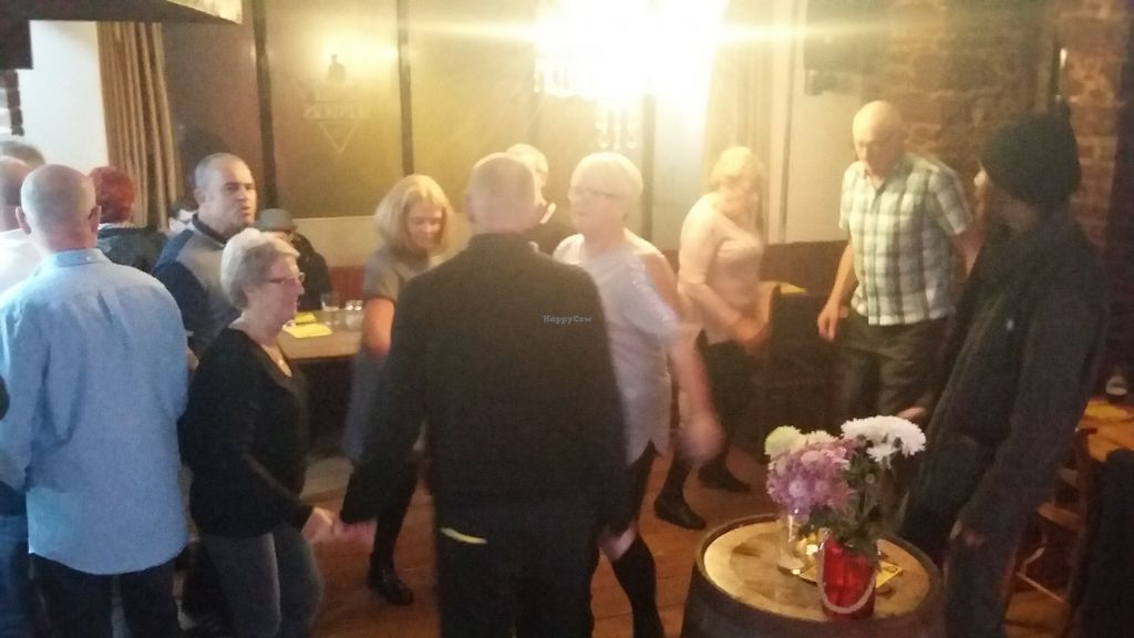 "Photo of Peaky Blinders Bar   by <a href=""/members/profile/Vegan-Vinyl-Avengers"">Vegan-Vinyl-Avengers</a> <br/>After-dinner dancing! <br/> November 10, 2017  - <a href='/contact/abuse/image/103614/323929'>Report</a>"