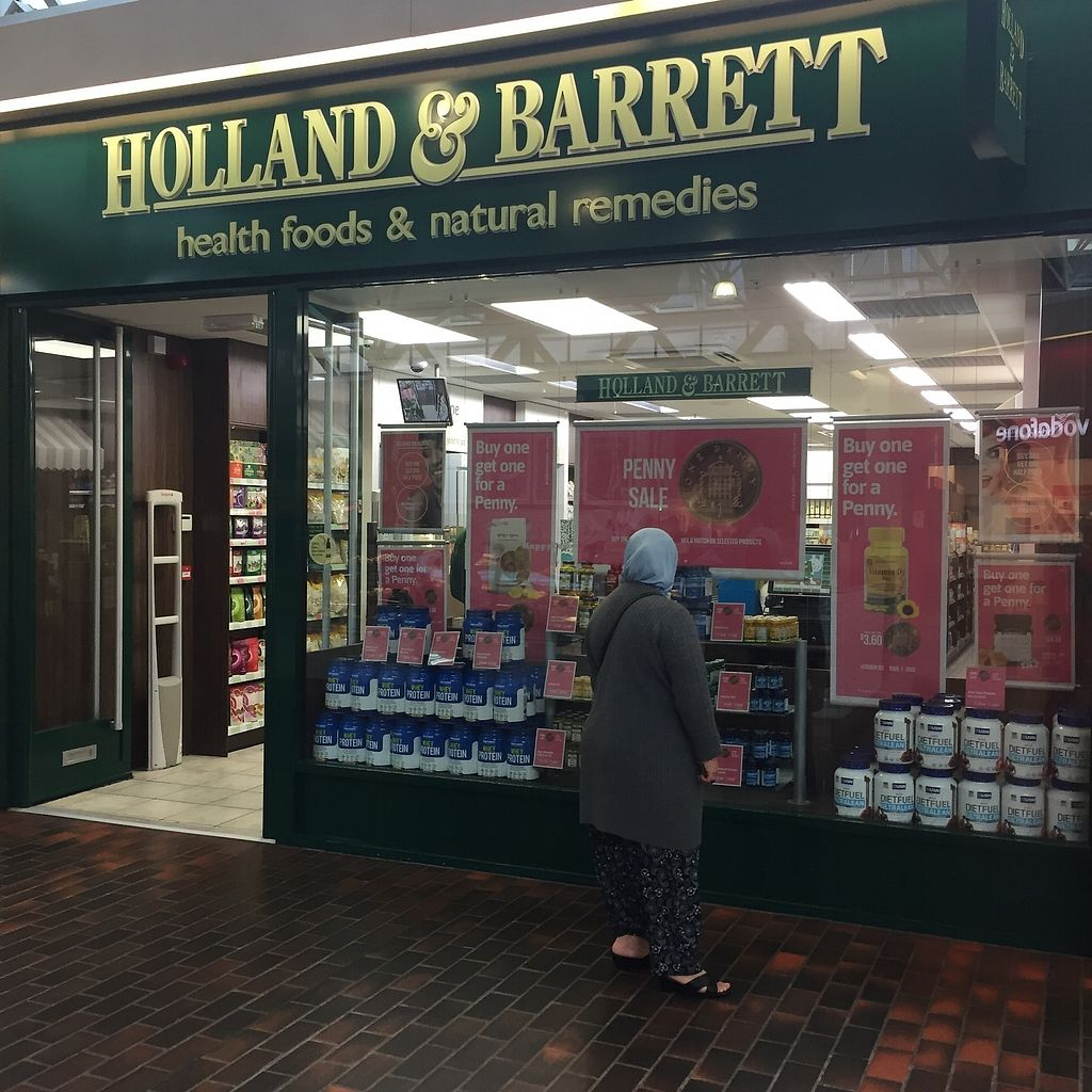 """Photo of Holland & Barrett  by <a href=""""/members/profile/TARAMCDONALD"""">TARAMCDONALD</a> <br/>S hop exterior in shopping centre <br/> October 24, 2017  - <a href='/contact/abuse/image/103627/318546'>Report</a>"""