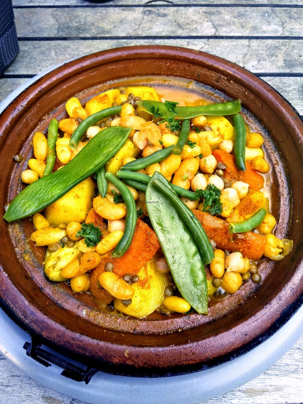 """Photo of Zahia's Cuisine  by <a href=""""/members/profile/Zjef"""">Zjef</a> <br/>vegetable tajine <br/> April 19, 2018  - <a href='/contact/abuse/image/103628/388220'>Report</a>"""