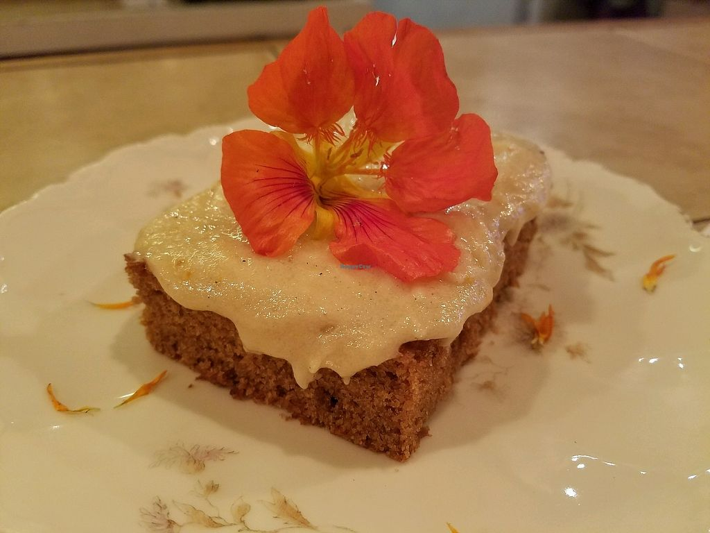 """Photo of Paradise Fresh Food  by <a href=""""/members/profile/EverydayTastiness"""">EverydayTastiness</a> <br/>vegan citrus cake <br/> December 29, 2017  - <a href='/contact/abuse/image/103642/340624'>Report</a>"""