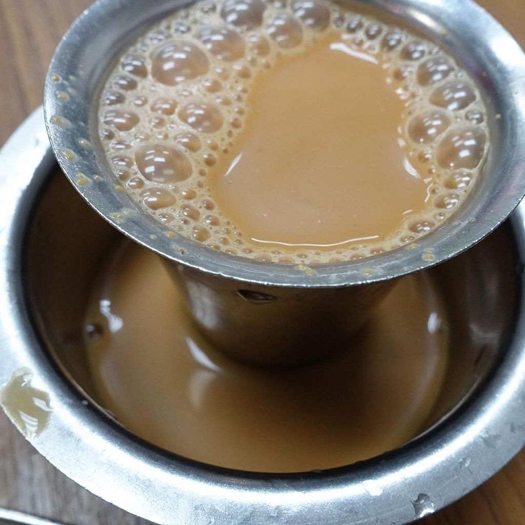 """Photo of Suriya Pure Vegetarian Restaurant  by <a href=""""/members/profile/JimmySeah"""">JimmySeah</a> <br/>Masala tea <br/> March 16, 2015  - <a href='/contact/abuse/image/10365/95861'>Report</a>"""