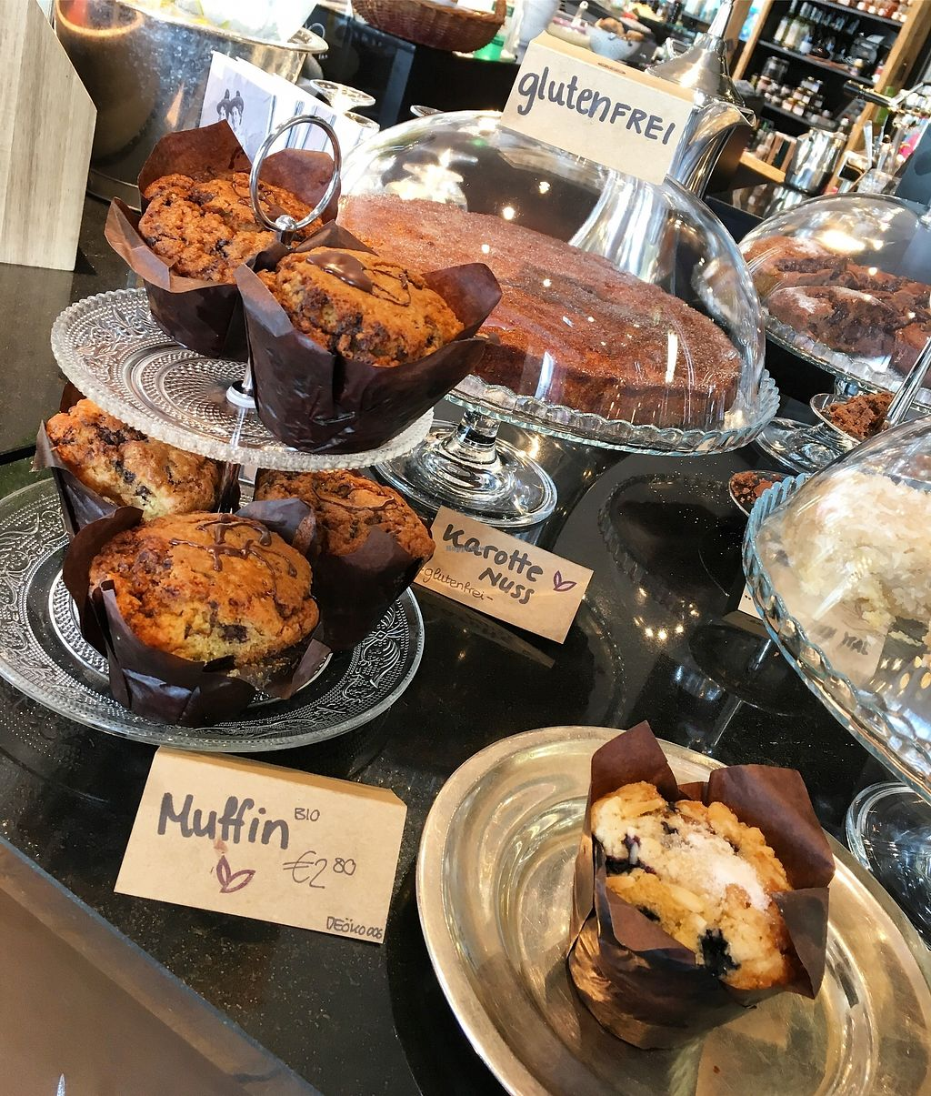 "Photo of Der Laden  by <a href=""/members/profile/Derladengap"">Derladengap</a> <br/>Vegan Muffins  <br/> November 1, 2017  - <a href='/contact/abuse/image/103673/320939'>Report</a>"