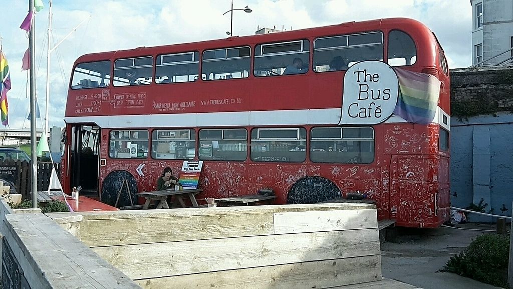 """Photo of The Bus Cafe  by <a href=""""/members/profile/laurene0203"""">laurene0203</a> <br/>outside bus <br/> October 25, 2017  - <a href='/contact/abuse/image/103688/318825'>Report</a>"""