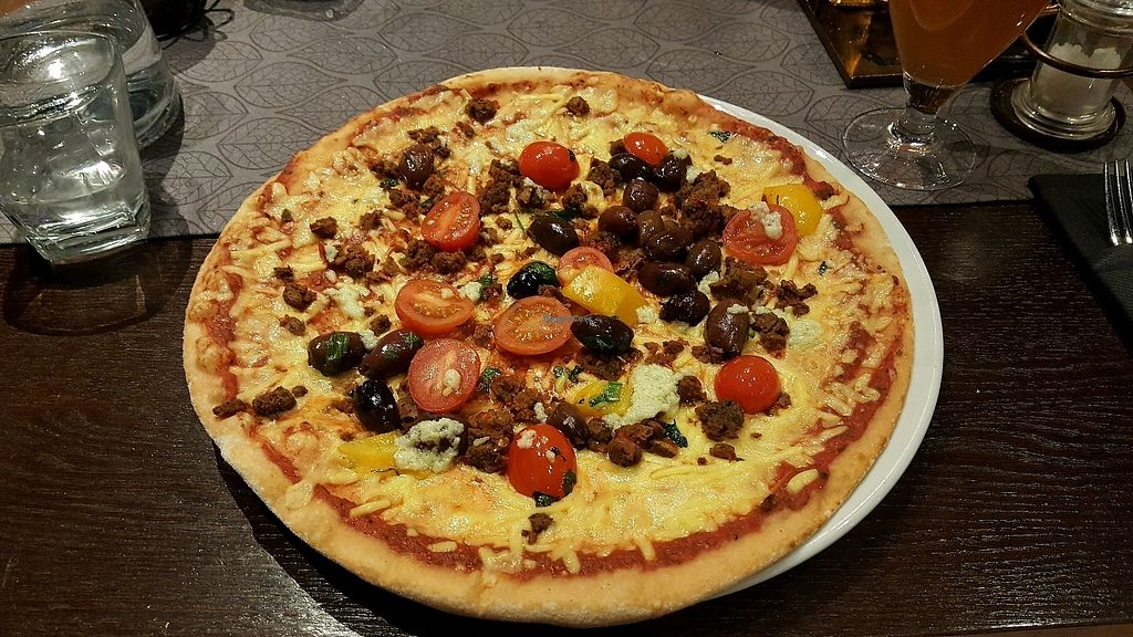 """Photo of Virgin Oil Co  by <a href=""""/members/profile/NicNewbs"""">NicNewbs</a> <br/>vegan pizza <br/> February 8, 2018  - <a href='/contact/abuse/image/103690/356475'>Report</a>"""