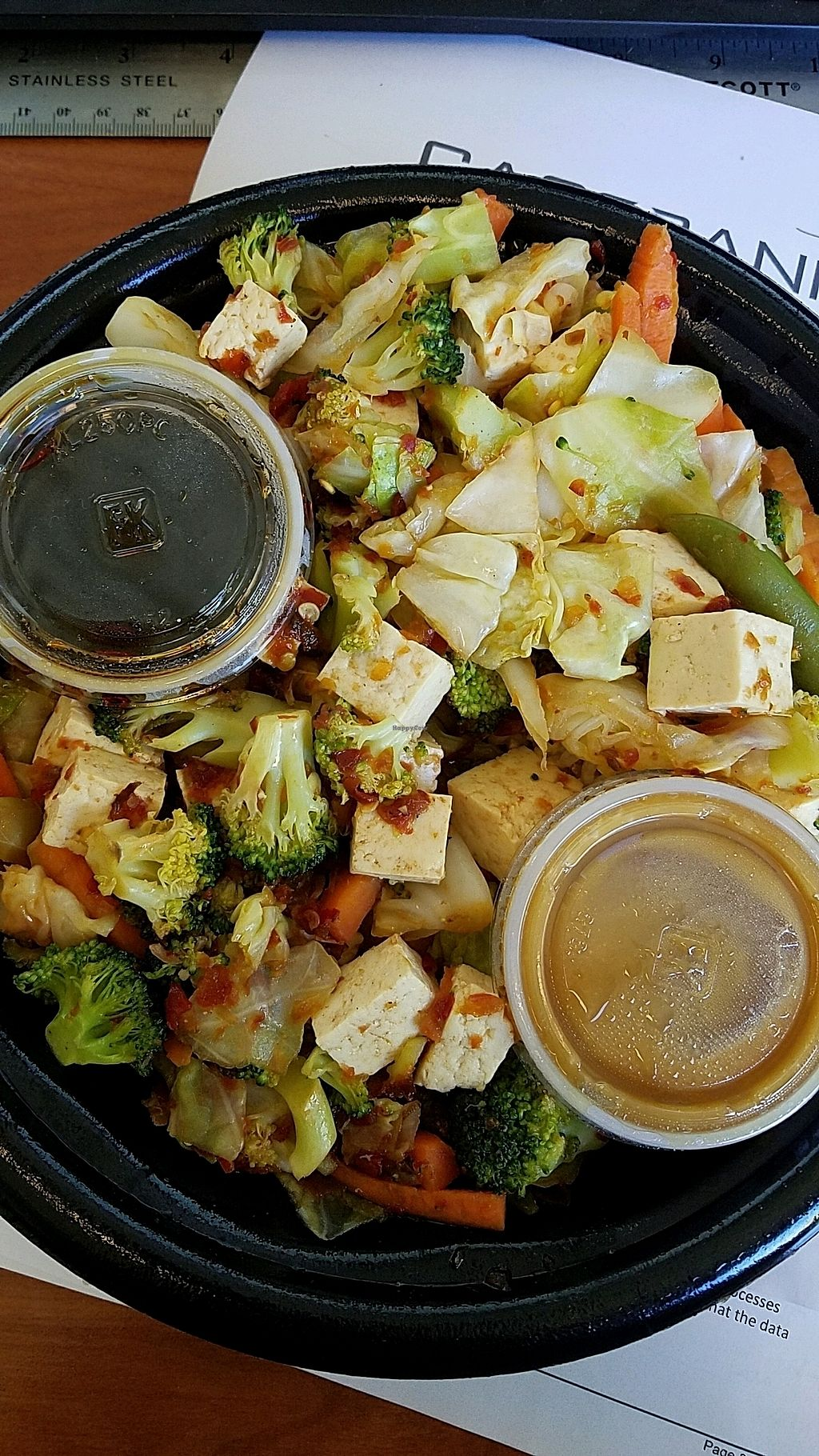 """Photo of Teriyaki Grill  by <a href=""""/members/profile/lv2compute"""">lv2compute</a> <br/>Veggie Delight bowl with tofu <br/> October 26, 2017  - <a href='/contact/abuse/image/103715/319092'>Report</a>"""