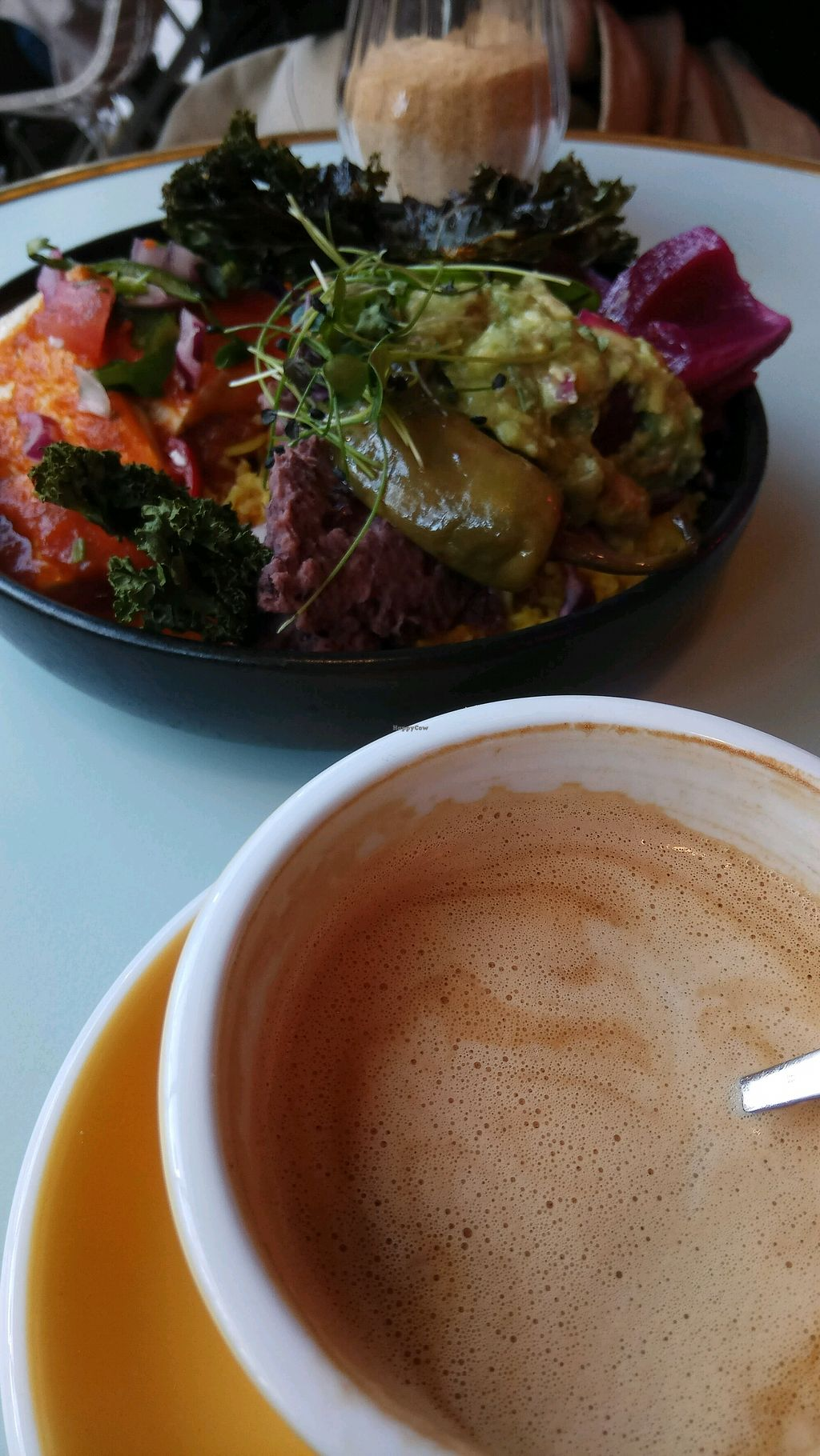 "Photo of Republique of Coffee  by <a href=""/members/profile/Kthr"">Kthr</a> <br/>Vegan rancheros  <br/> November 26, 2017  - <a href='/contact/abuse/image/103720/329344'>Report</a>"