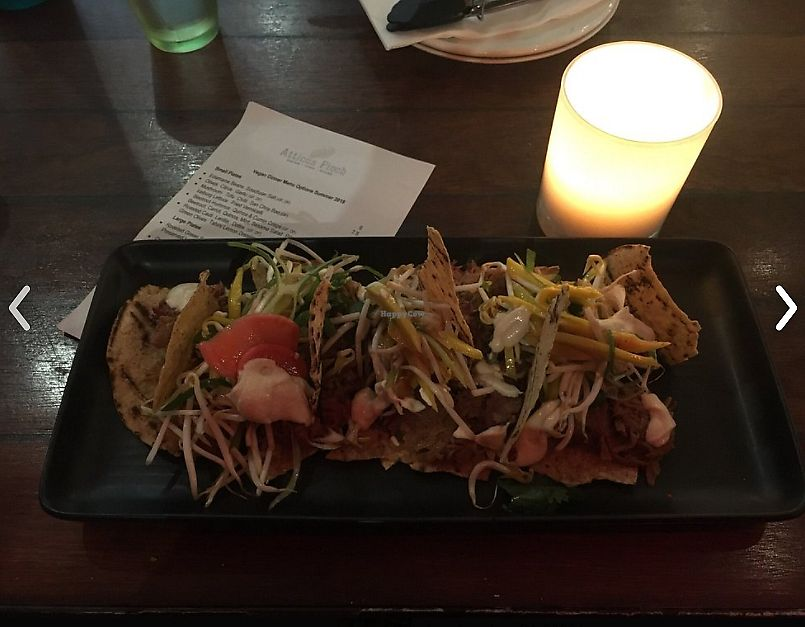 """Photo of Atticus Finch  by <a href=""""/members/profile/ForGoodnessSeyks"""">ForGoodnessSeyks</a> <br/>We had a delicious jackfruit nachos dish <br/> March 27, 2018  - <a href='/contact/abuse/image/103721/376977'>Report</a>"""