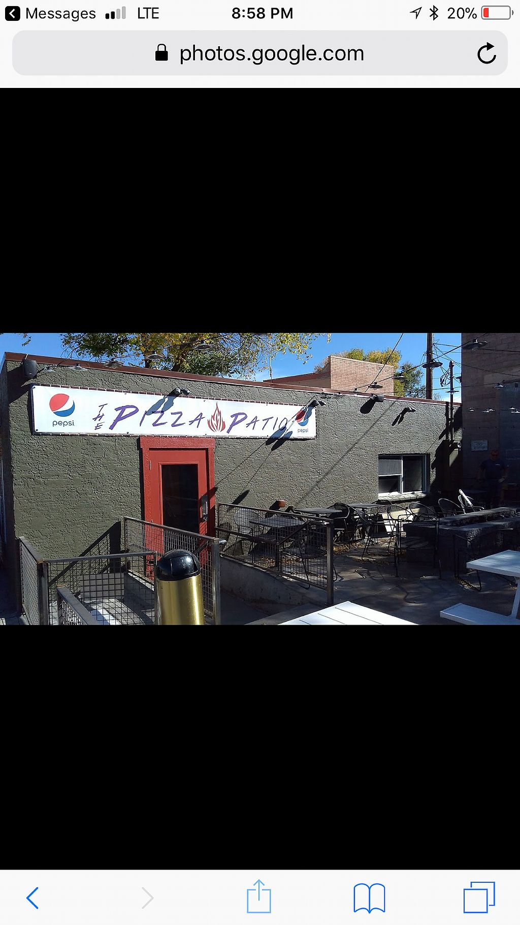 """Photo of The Pizza Patio  by <a href=""""/members/profile/Justusveggies"""">Justusveggies</a> <br/>Outside  <br/> October 26, 2017  - <a href='/contact/abuse/image/103761/319119'>Report</a>"""