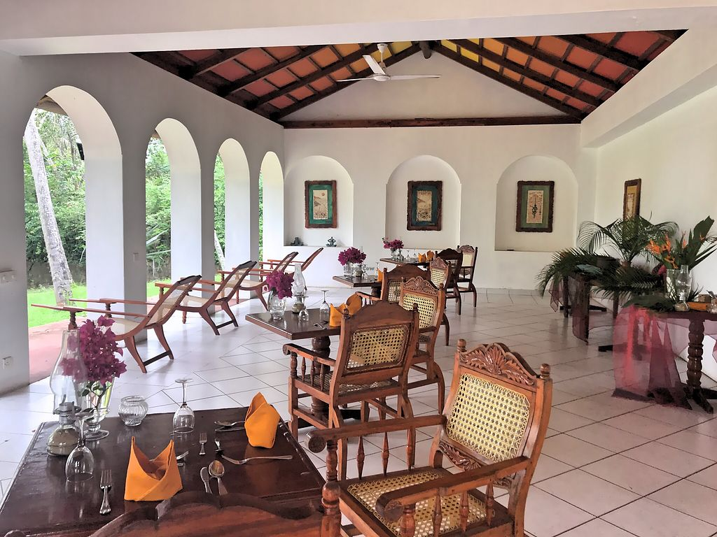 """Photo of Hotel Eva Lanka  by <a href=""""/members/profile/SoniaGivray"""">SoniaGivray</a> <br/>Ayurvedic Dining Room, comedor Ayurveda <br/> November 4, 2017  - <a href='/contact/abuse/image/103823/321648'>Report</a>"""