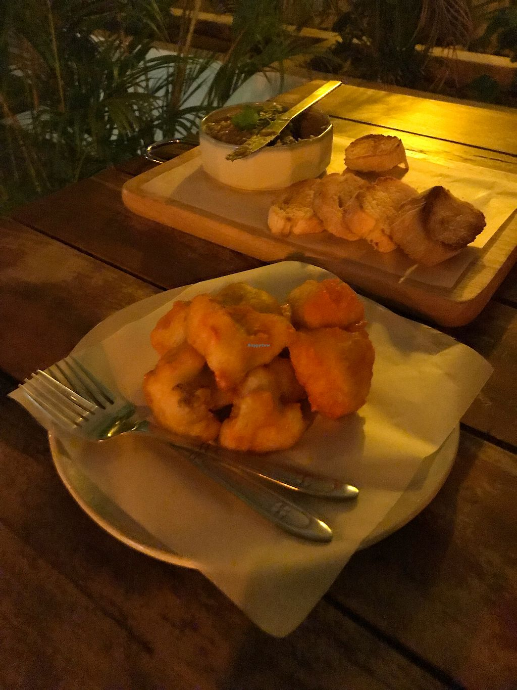 """Photo of Moringa Bar & Restaurant  by <a href=""""/members/profile/_Leila"""">_Leila</a> <br/>Buffalo cauliflower wings <br/> December 27, 2017  - <a href='/contact/abuse/image/103857/339448'>Report</a>"""
