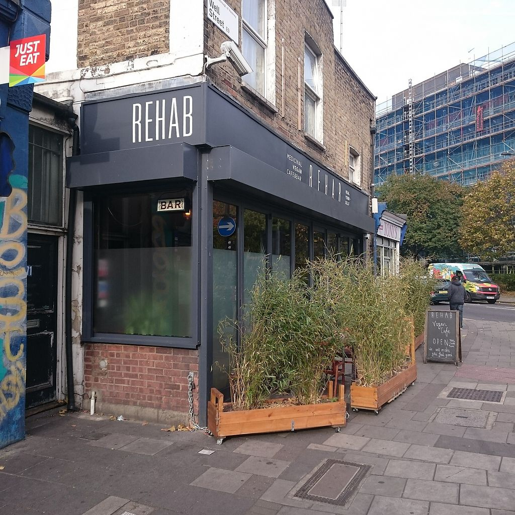 "Photo of Rehab  by <a href=""/members/profile/robz"">robz</a> <br/>Rehab cafe and bar Hackney <br/> November 7, 2017  - <a href='/contact/abuse/image/103934/323043'>Report</a>"