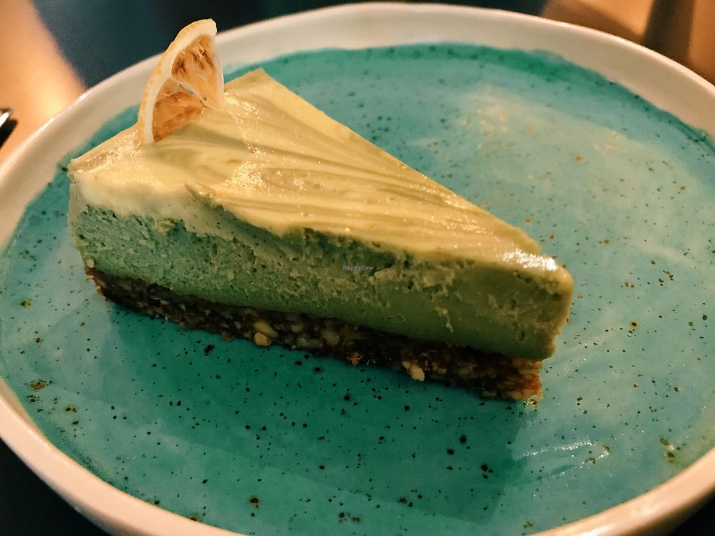 """Photo of Vi Coffee & Healthy Living  by <a href=""""/members/profile/veganoteacher"""">veganoteacher</a> <br/>Vegan Cheesecake  <br/> November 27, 2017  - <a href='/contact/abuse/image/103961/329809'>Report</a>"""
