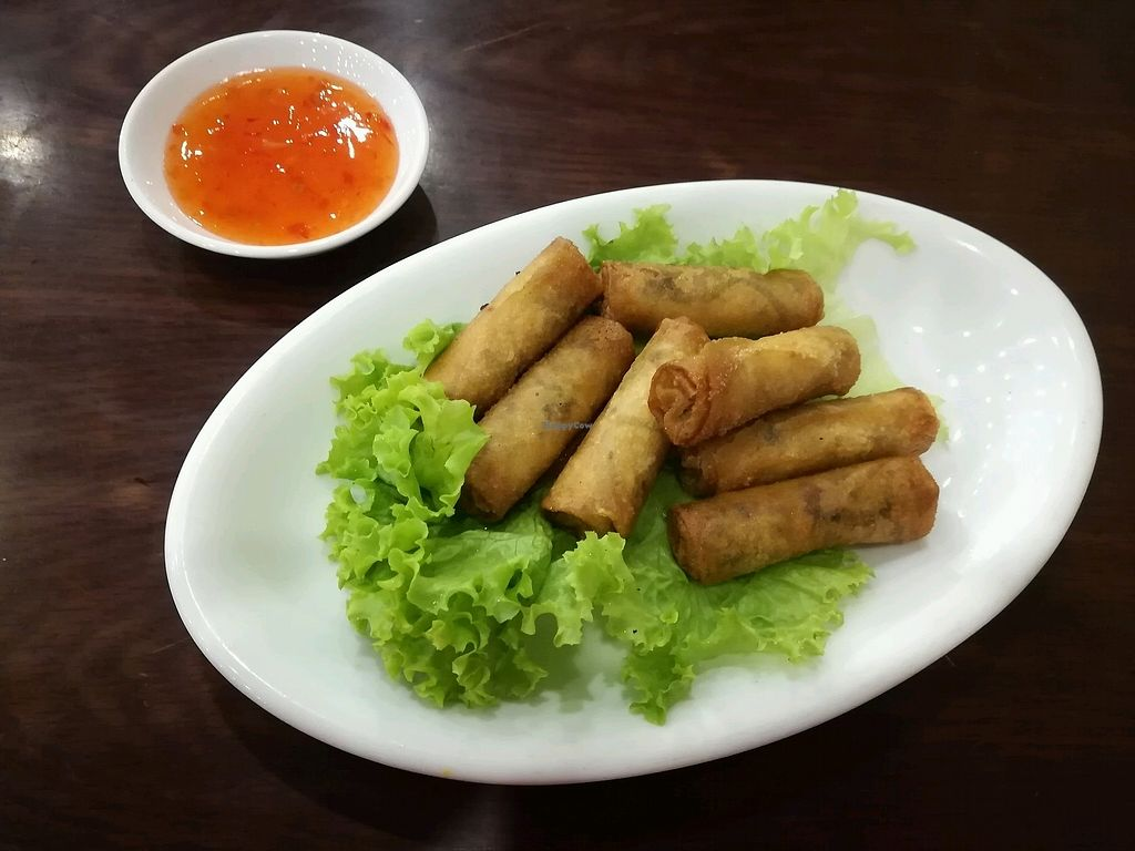"""Photo of Hoa Sen - Nguyen Van Cu  by <a href=""""/members/profile/Joost"""">Joost</a> <br/>fried spring rolls <br/> January 11, 2018  - <a href='/contact/abuse/image/103969/345429'>Report</a>"""