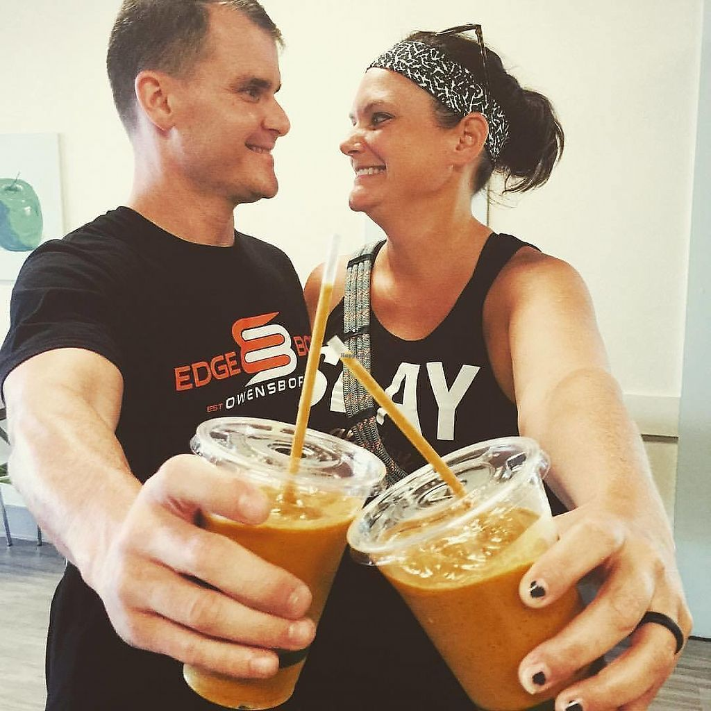 """Photo of Wheatgrass Juice Bar  by <a href=""""/members/profile/Wheatgrassjuicebar"""">Wheatgrassjuicebar</a> <br/>Great post workout smoothies with added Hemp Protein <br/> October 31, 2017  - <a href='/contact/abuse/image/103989/320563'>Report</a>"""