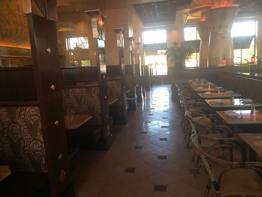 """Photo of The Cheesecake Factory  by <a href=""""/members/profile/fruitiJulie"""">fruitiJulie</a> <br/>Seating booths and tables <br/> November 22, 2017  - <a href='/contact/abuse/image/103994/328031'>Report</a>"""