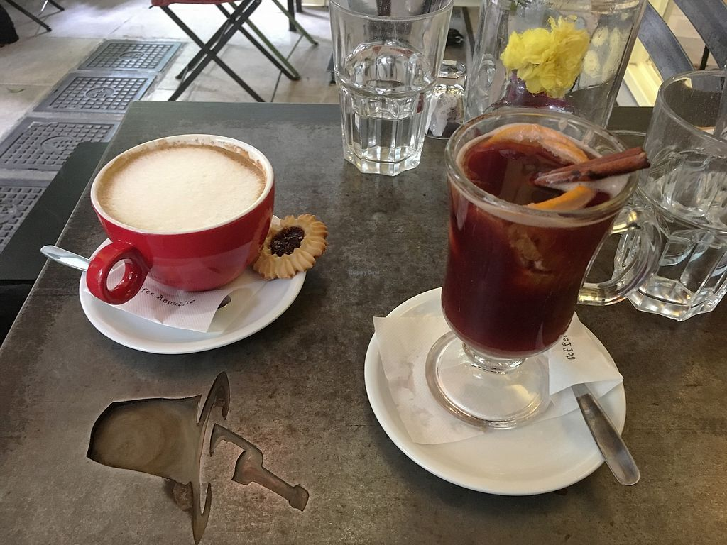 "Photo of Cafe Bar 67  by <a href=""/members/profile/Alina%26Deian"">Alina&Deian</a> <br/>Very good coffee with almond milk and mulled wine <br/> December 1, 2017  - <a href='/contact/abuse/image/103996/331156'>Report</a>"