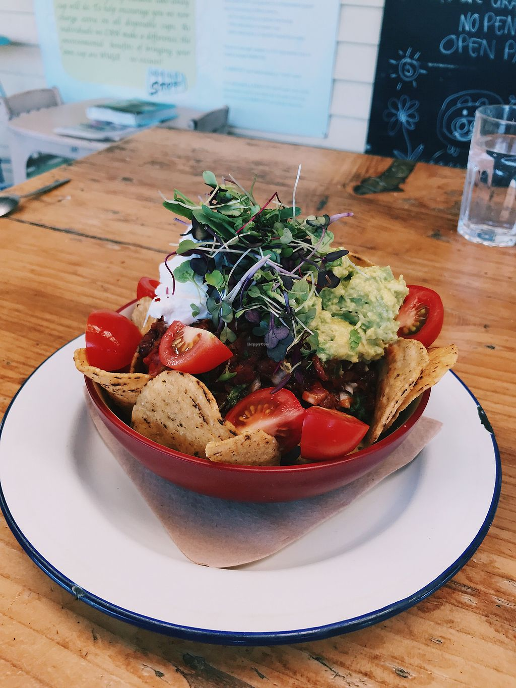 "Photo of Okere Falls Store  by <a href=""/members/profile/JadeBuitendag"">JadeBuitendag</a> <br/>Vegan nachos!  <br/> December 21, 2017  - <a href='/contact/abuse/image/104062/337717'>Report</a>"