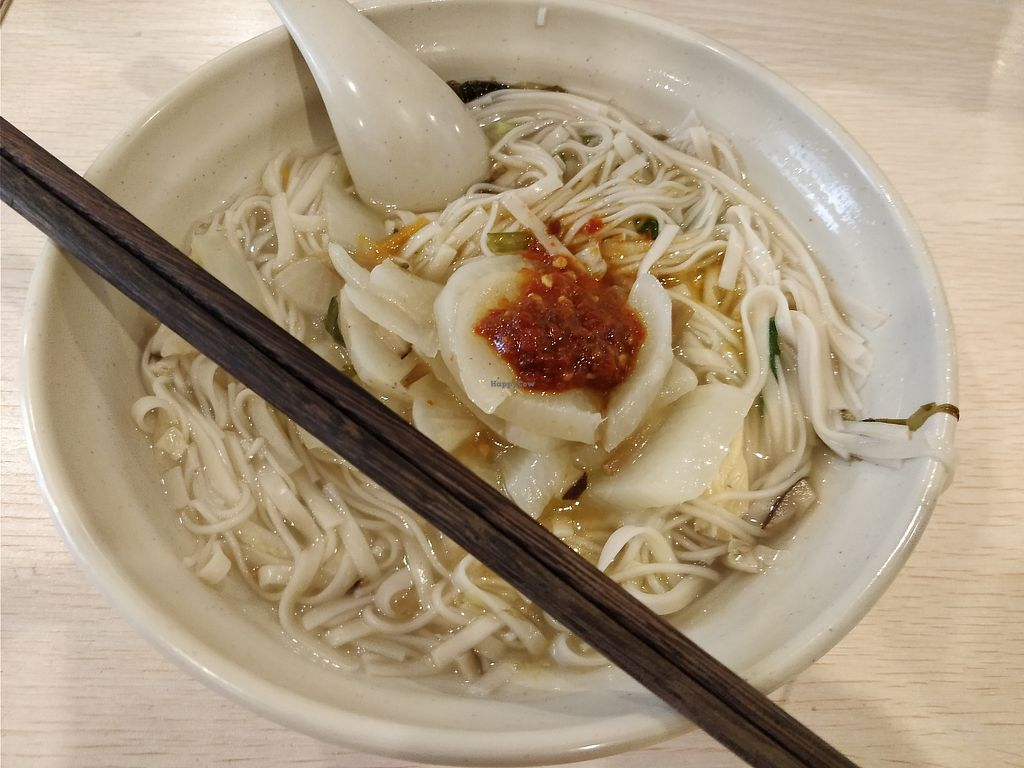 """Photo of Yu Hua Zhai  by <a href=""""/members/profile/ultm8"""">ultm8</a> <br/>Noodles and veggies <br/> November 6, 2017  - <a href='/contact/abuse/image/104064/322384'>Report</a>"""
