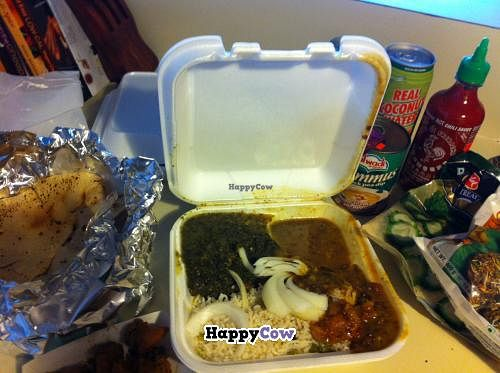 """Photo of India Sweets and Grocery  by <a href=""""/members/profile/FullofBeans"""">FullofBeans</a> <br/>Dinner to go + specialty groceries = happy belly.  <br/> July 5, 2013  - <a href='/contact/abuse/image/10406/50804'>Report</a>"""