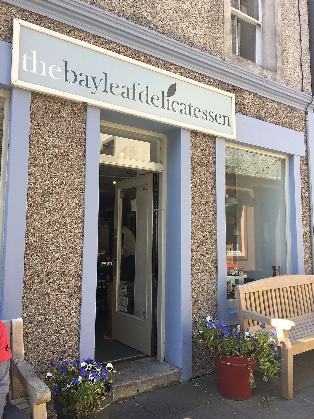 """Photo of The Bayleaf Delicatessen  by <a href=""""/members/profile/poppylev"""">poppylev</a> <br/>Lovely plants  <br/> November 7, 2017  - <a href='/contact/abuse/image/104078/322968'>Report</a>"""