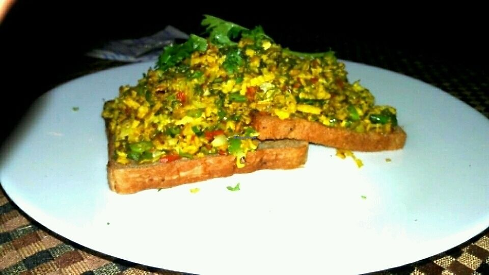 """Photo of Sunlight Cafe  by <a href=""""/members/profile/SUNLIGHTCAFE"""">SUNLIGHTCAFE</a> <br/>we call it scrambled tofu garlic scented with vegetable for a Vegan person <br/> November 12, 2017  - <a href='/contact/abuse/image/104086/324622'>Report</a>"""