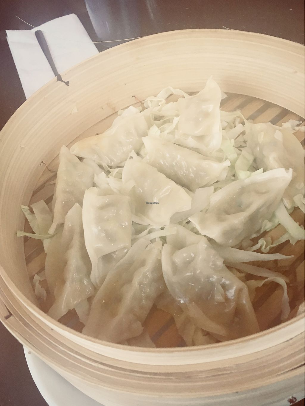 """Photo of Soon's Tofu  by <a href=""""/members/profile/Clean%26Green"""">Clean&Green</a> <br/>Steamed vegetable dumplings  <br/> November 28, 2017  - <a href='/contact/abuse/image/104099/329915'>Report</a>"""