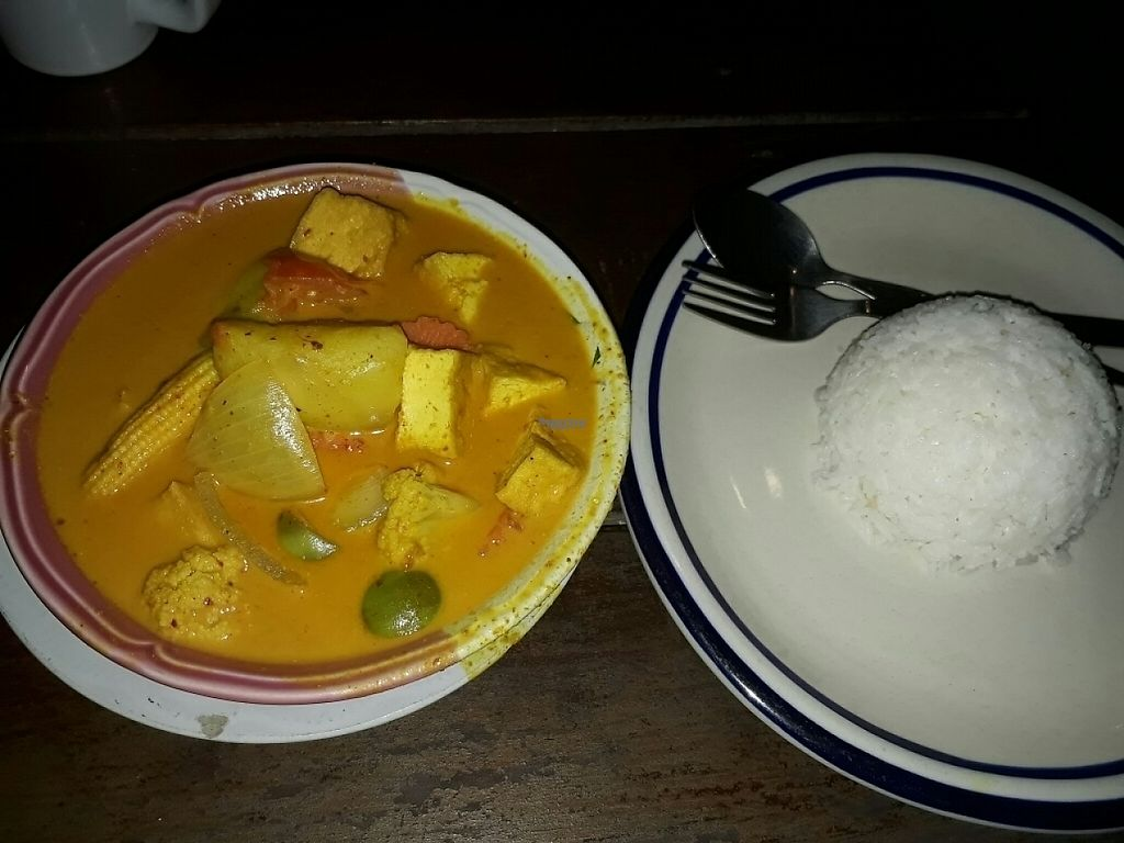 """Photo of The Sanctuary  by <a href=""""/members/profile/LilacHippy"""">LilacHippy</a> <br/>Indian curry with tofu <br/> January 3, 2017  - <a href='/contact/abuse/image/10409/207599'>Report</a>"""