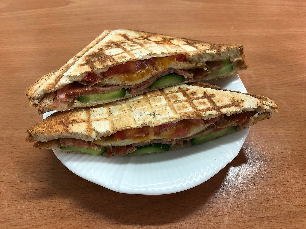 "Photo of Vegan House - Su Shi Wu  by <a href=""/members/profile/geomat"">geomat</a> <br/>Breakfast panini <br/> April 17, 2018  - <a href='/contact/abuse/image/104128/387300'>Report</a>"