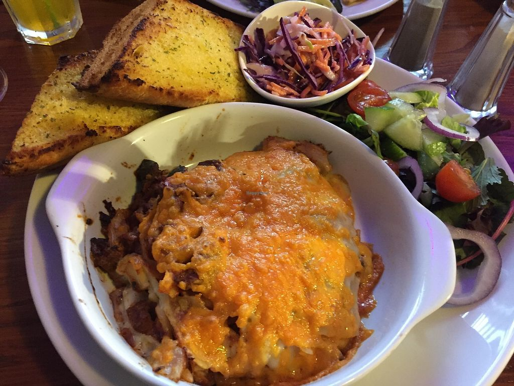 """Photo of Castle Inn  by <a href=""""/members/profile/FelicityCandlestick"""">FelicityCandlestick</a> <br/>Gorgeous lasagne <br/> April 12, 2018  - <a href='/contact/abuse/image/104170/384522'>Report</a>"""