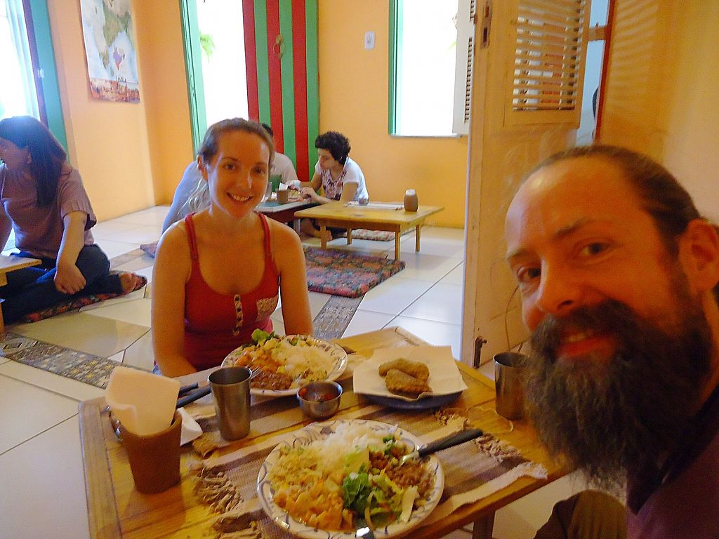 """Photo of Centro Cultural Annapurna  by <a href=""""/members/profile/WayneB"""">WayneB</a> <br/>Local food day, rice and beans.  <br/> November 6, 2017  - <a href='/contact/abuse/image/104191/322399'>Report</a>"""