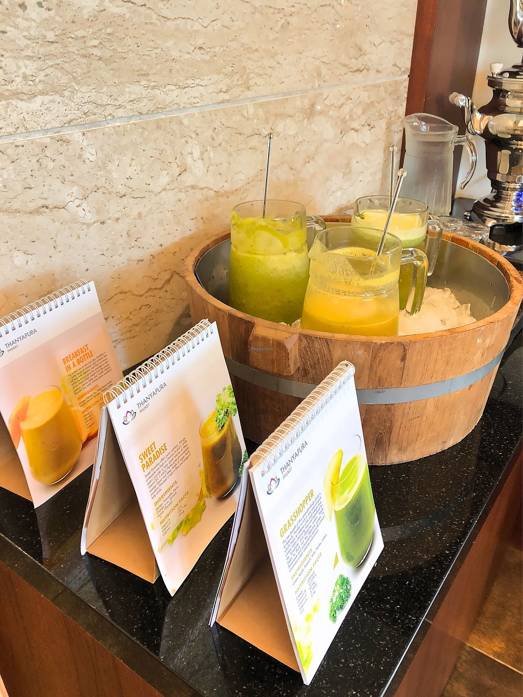 """Photo of DiLite Restaurant  by <a href=""""/members/profile/SoniaGivray"""">SoniaGivray</a> <br/>Cold pressed veggie ?  <br/> April 11, 2018  - <a href='/contact/abuse/image/104203/383703'>Report</a>"""