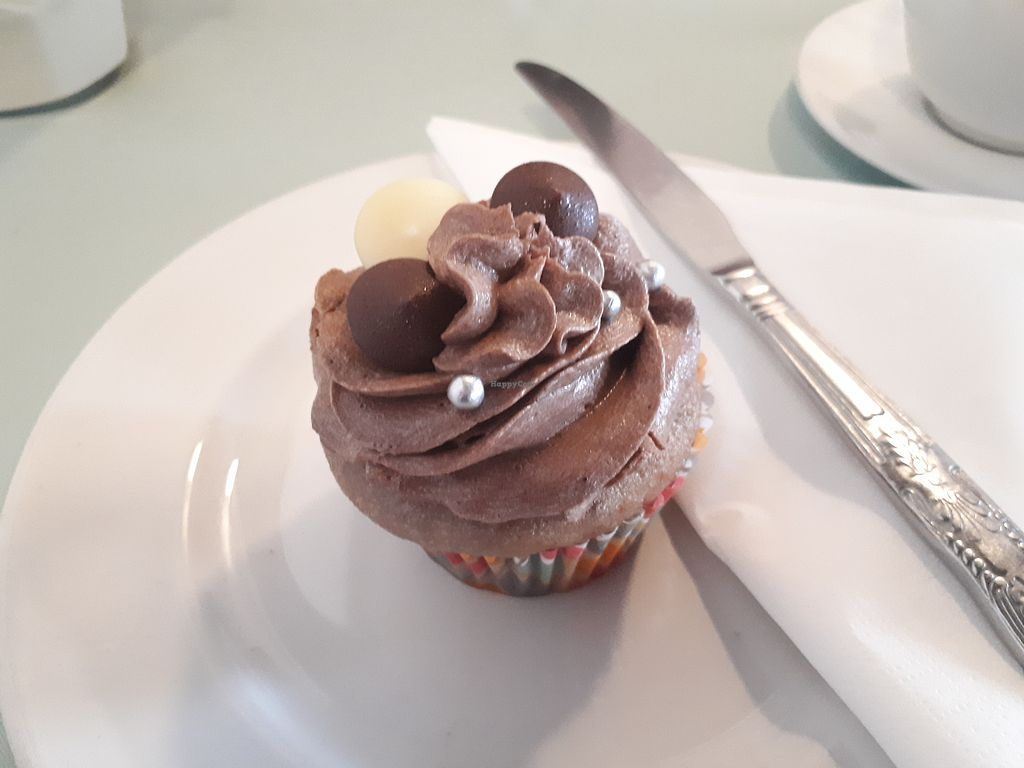 "Photo of Pots  by <a href=""/members/profile/Efbee"">Efbee</a> <br/>Chocolate and cherry vegan cupcake  <br/> January 27, 2018  - <a href='/contact/abuse/image/104219/351513'>Report</a>"