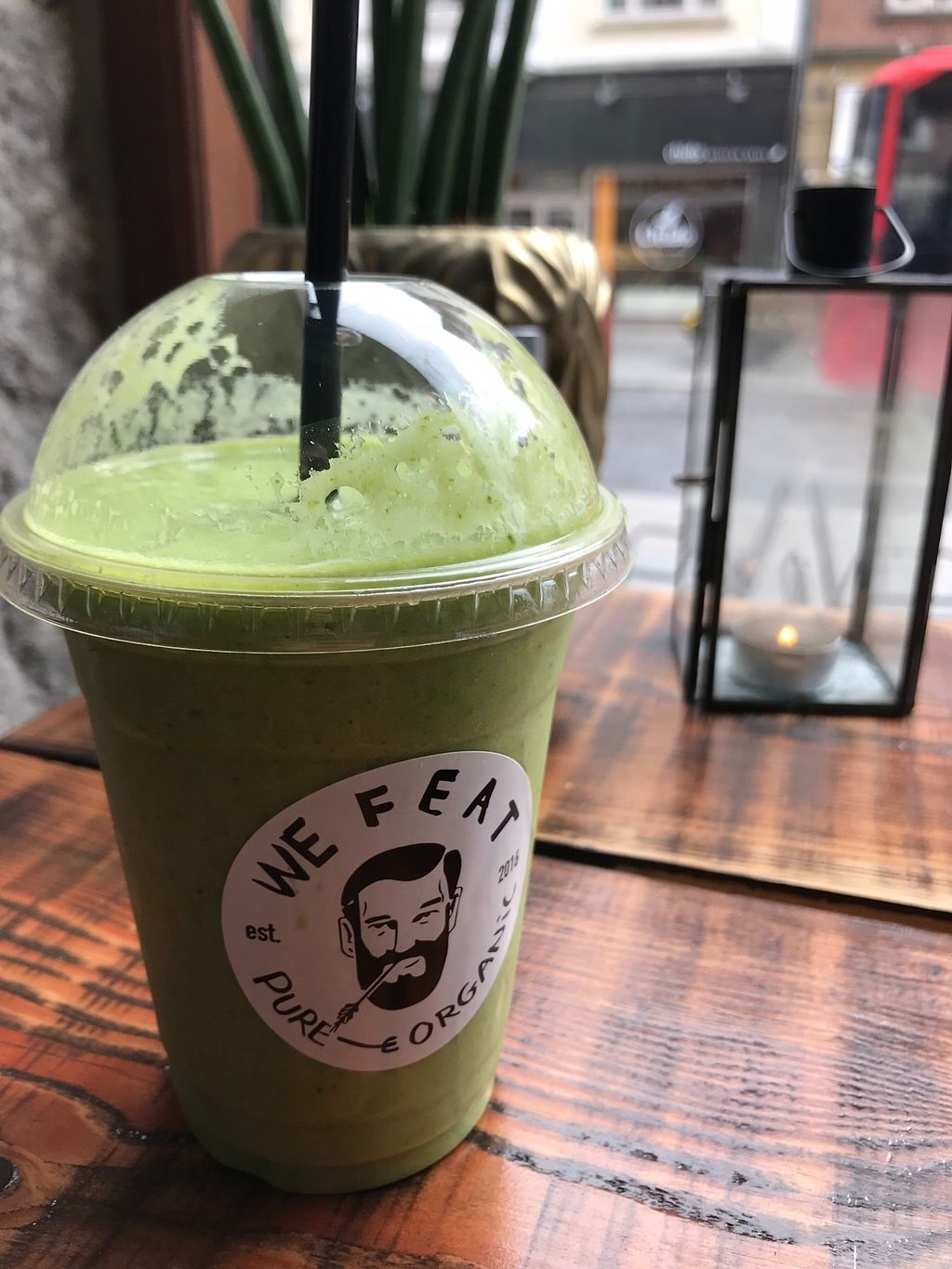 "Photo of We Feat  by <a href=""/members/profile/VinSingapore"">VinSingapore</a> <br/>Green Gun freshly blended juice <br/> April 14, 2018  - <a href='/contact/abuse/image/104233/385717'>Report</a>"