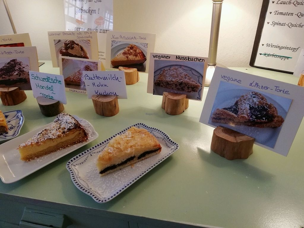 """Photo of Cafe Moller  by <a href=""""/members/profile/Mallorcatalks"""">Mallorcatalks</a> <br/>Auch vegane Kuchen im Angebot  <br/> January 26, 2018  - <a href='/contact/abuse/image/104243/351120'>Report</a>"""