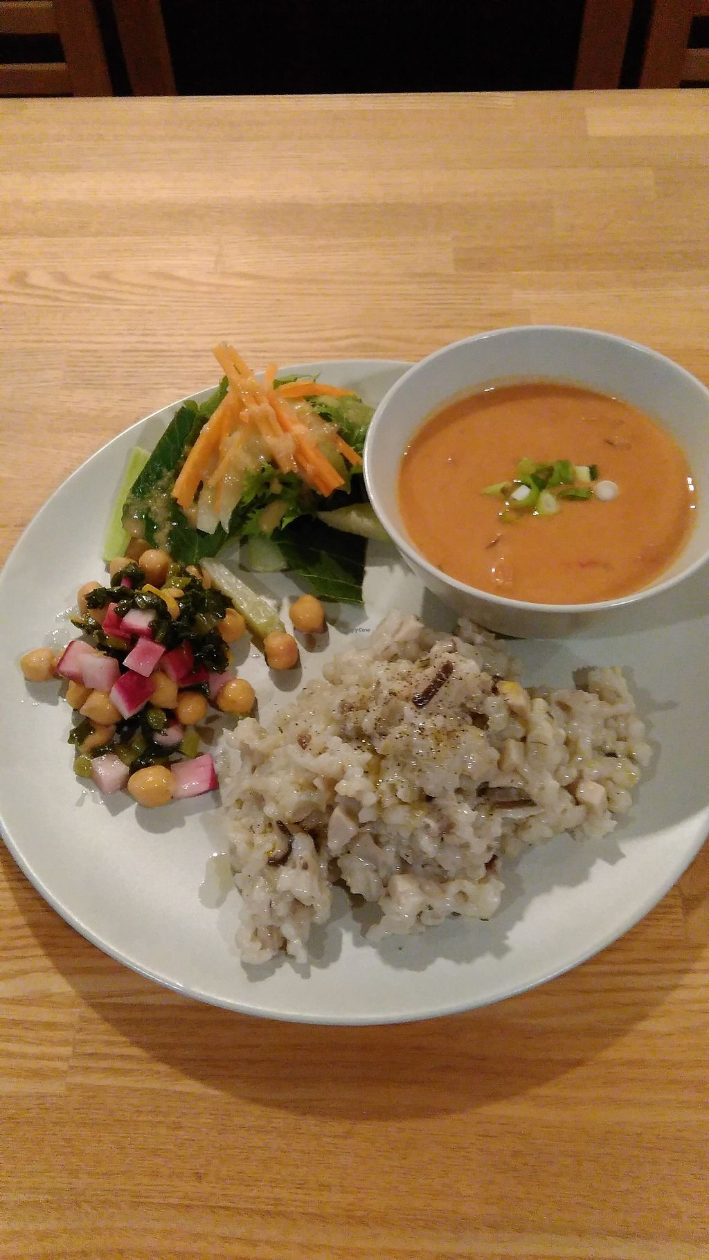 """Photo of Kuppila  by <a href=""""/members/profile/Kuppila"""">Kuppila</a> <br/>Vegan set lunch <br/> November 30, 2017  - <a href='/contact/abuse/image/104245/330726'>Report</a>"""