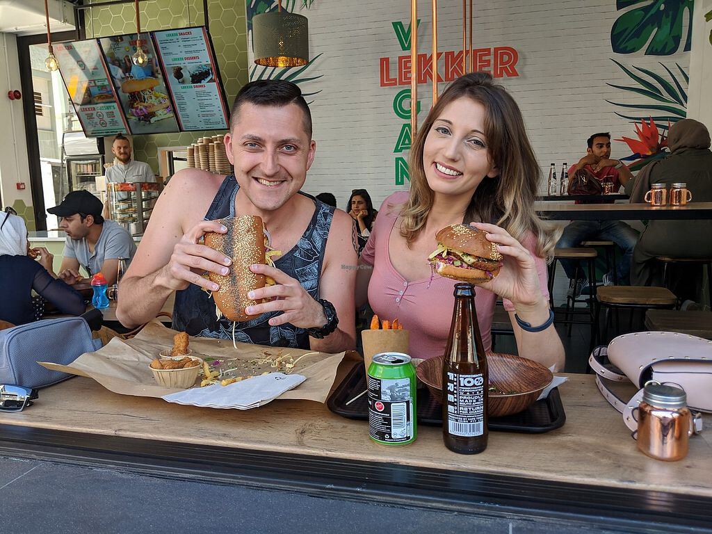 """Photo of Lekker Vegan  by <a href=""""/members/profile/theresabee"""">theresabee</a> <br/>Mouthful! <br/> April 8, 2018  - <a href='/contact/abuse/image/104251/382574'>Report</a>"""