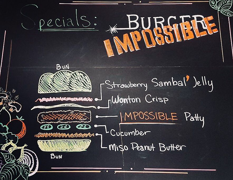 """Photo of Seed Shack  by <a href=""""/members/profile/Dnymud"""">Dnymud</a> <br/>The Impossible Burger  <br/> February 4, 2018  - <a href='/contact/abuse/image/104258/355061'>Report</a>"""